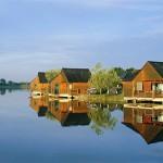 Le village de gîtes de pêche