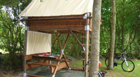 """Vélo Francette® : Une nuit en tente """"Bivouac"""""""