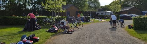 Un camping très agréable pour les pêcheurs et les cyclistes